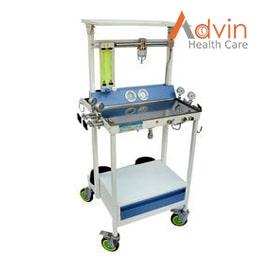 Anesthesia Trolley (1 N2, 2 O2)