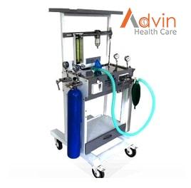 Anesthesia Trolley (2 N2, 2 O2)