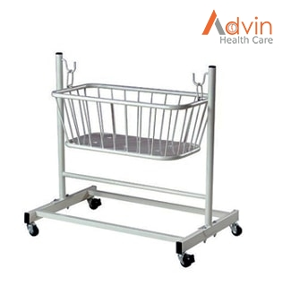 Baby Crib On Trolley