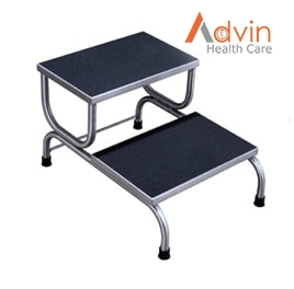 Hospital BED Double Foot Step