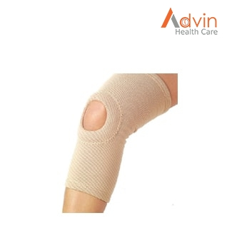 Elastic Tubular Knee Cap with Central Hole