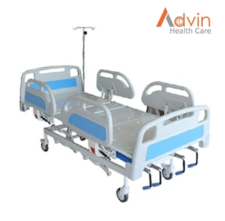 Five Function Manual Crank Operated ICU Bed