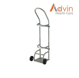 Oxygen Cylinder Trolley Pull Type