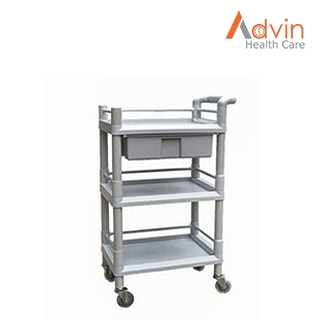 Plastic Medical Utility Cart
