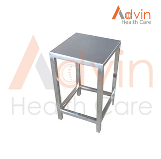 2 Foot Stainless Steel Stool