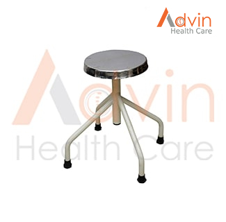 Adjustable Hydraulic Revolving Patient Stool
