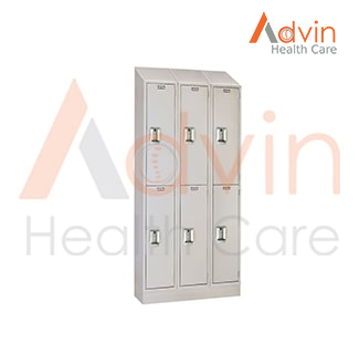 Antimicrobial Locker Double Tier