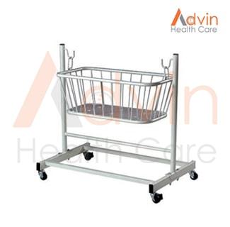 Baby Crib On Trolley