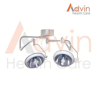 Ceiling Medical Operating Halogen Surgery Lamp Double Dome OT Light
