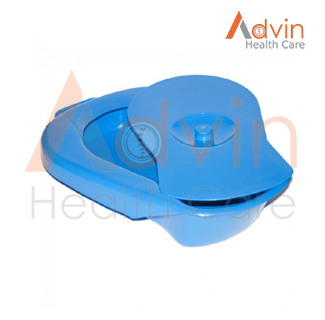Disposable plastic male bed pan