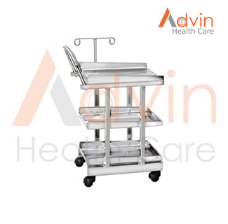 ECG Trolley with EPC Frame Work