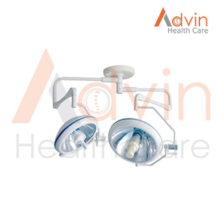 Halogen Medical Device Double Dome Shadow less Ceiling OT Lamp