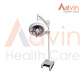 Hospital Halogen Lamp Spot Light Portable OT Light Mobile Examination Light