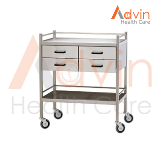 Hospital Instruments And Medicine Trolley