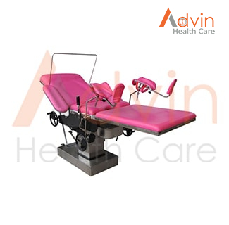 Hospital Medical Manual Operation Theatre Table For Gynecology