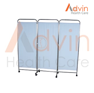 Medical 3 Panel Privacy Screen
