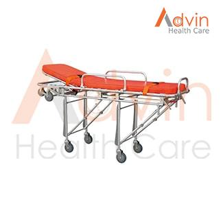 Medical Aluminum Alloy Ambulance Stretcher Trolley