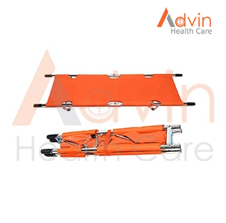 Medical Emergency Rescue Stretcher With Handles Double Folding Stretcher