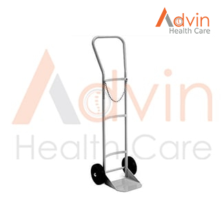 Medical Hospital Oxygen Cylinder Trolley