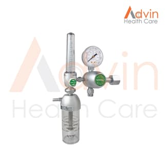 Oxygen Flowmeter With Humidifier Bottle