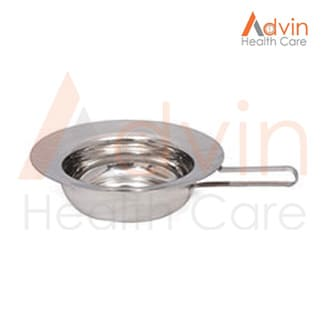 Round Bed Pan Without Lid