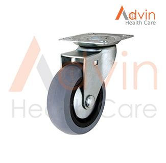 Solid Rubber Wheel Castor