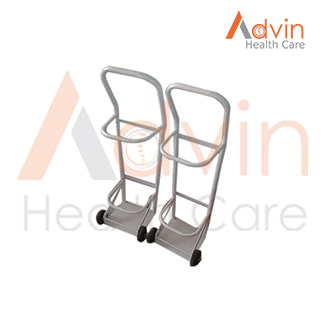Stainless Steel Oxygen Cylinder Stand