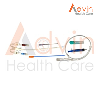 Disposables Double Lumen Catheter Kit