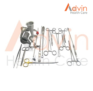 Gynecology Cesarean Delivery Set