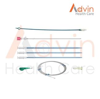 Malecot Drainage Catheter Set