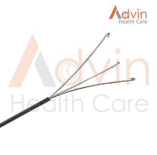 PCNL U Handle Tri prong Forceps