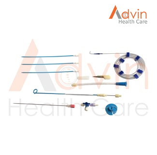 Pigtail Liver Abscess Drainage Catheter