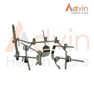 Side Arm & Cross Bar Table Mounted Retractor System