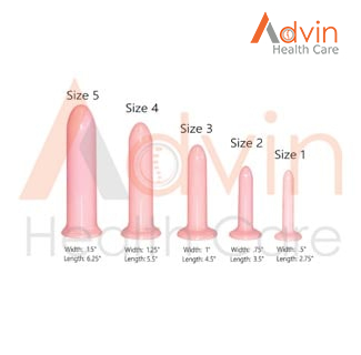 Tapered Vaginal Dilator Set