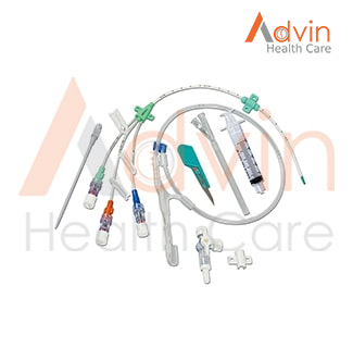 Triple Lumen Central Venous Catheter Set