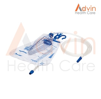 Urometer / Urine Collecting Bag With Measured Volume Chamber