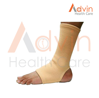 ankle supporter for surgical and sports activity anklet pair