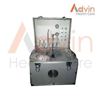 mobile portable dental unit